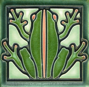 Green Salmon Frog
