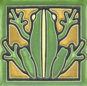 Green Frog Tile