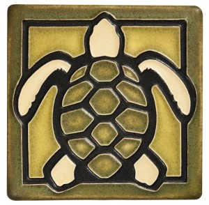 Moss Turtle Tile