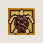 Brown Turtle Tile