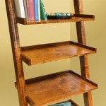 Leaning Bookcase Detail