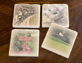 Golf Coaster Set