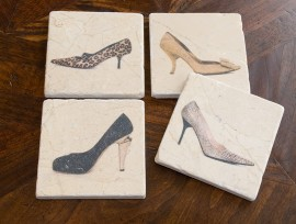 Shoe Coaster Set