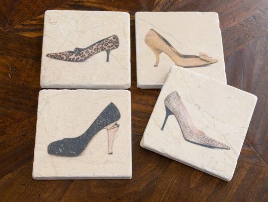 Shoe Coaster Set