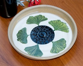 Ginkgo Serving Plate