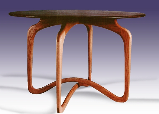 Wood Top Table