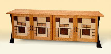 Custom Prairie Windows Buffet
