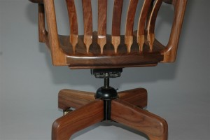 Floating Desk Chair Rear View