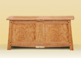Cherry Blanket Chest