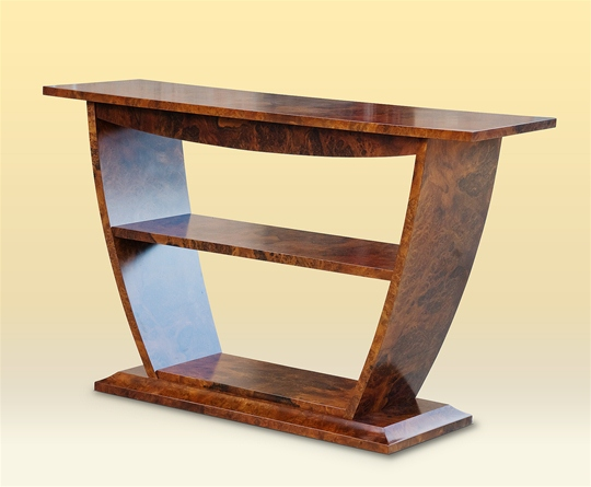 Burled Walnut Elephant Console Table Sawbridge Studios
