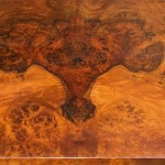 Walnut Burl veneer detail