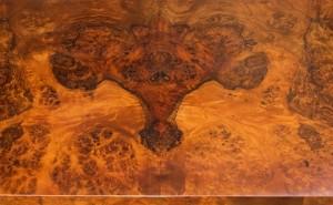 Walnut Burl veneer detail