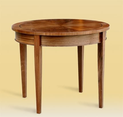 Custom Large Round Side Table