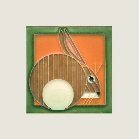 Carrot Hare Tile
