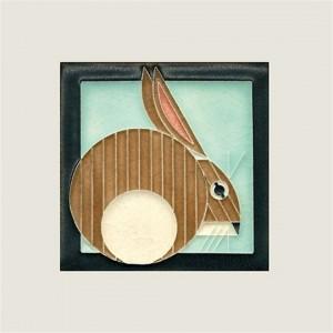 Light Blue Hare Tile