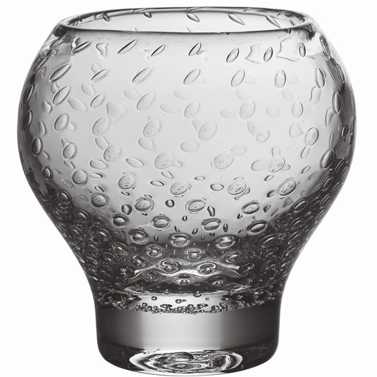 Pure Celestial Round Vase