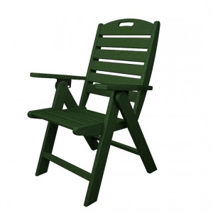 Green Nautical Highback Dining Chair