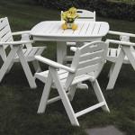 Nautical Highback Dining Chair Set