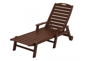 Nautical Chaise with Arms