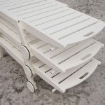 Classic White Nautical Chaise