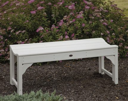 Traditional Backless Garden Bench