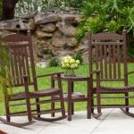 Mahogany Jefferson Slat Rocking Chair