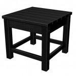 Black Club End Table