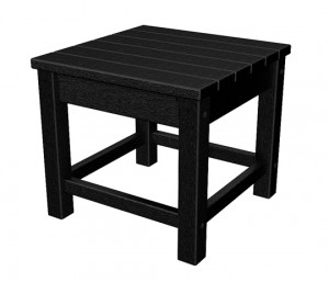 Black Club End Table