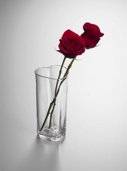 Highgate Heart Vase by Simon Pearce
