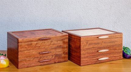 Heartwood Jewelry Boxes