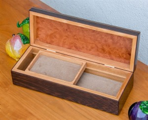 Avalon Jewelry Box inside detail
