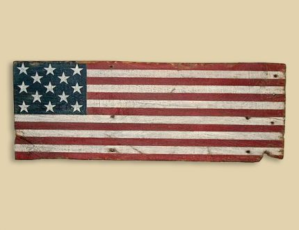 Reclaimed Barn Wood First Official Flag - Ogle Co.