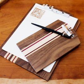 Natural Hardwood Clipboards