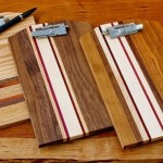 Joel & Karma Natural Hardwood Clipboards