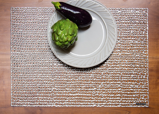 Pressed Gilt Placemat