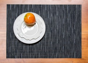 Navy Blue Bamboo Placemat