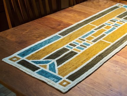 """""""Stained Glass Window"""" Table Runner"""