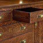 open drawer sideboard