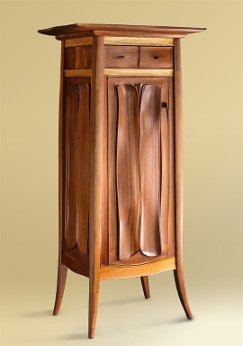 Organic Carved Cabinet