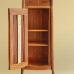 Carved Cabinet Open Door Detail