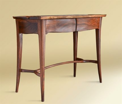 Carved Console with Drawers