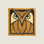 Dark Oak Owl Tile