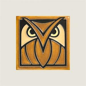 Dark Oak Owl Tile