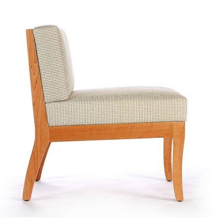 Sawbridge Studios Eau Claire Slipper Chair side