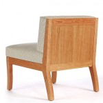 Sawbridge Studios Eau Claire Slipper Chair back