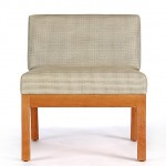 Sawbridge Studios Eau Claire Slipper Chair front