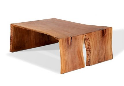 Sycamore Low Live Edge Coffee Table