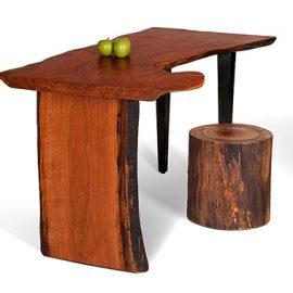 Live Edge Cherry Desk