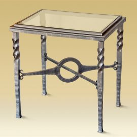 Charleston forge Omega Side Table
