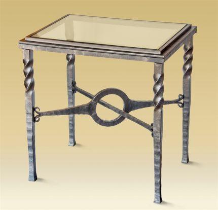 Charleston forge Omega Side Table